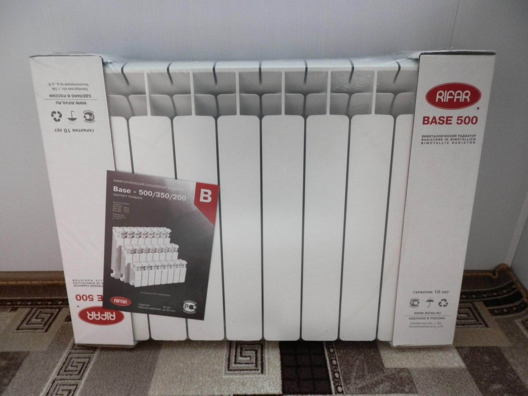 Какие биметаллические радиаторы отопления лучше?