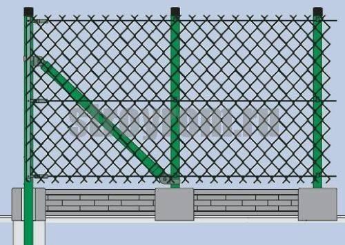 Заборы из сварной 3d сетки, установка сварных заборов из 3d сетки своими руками