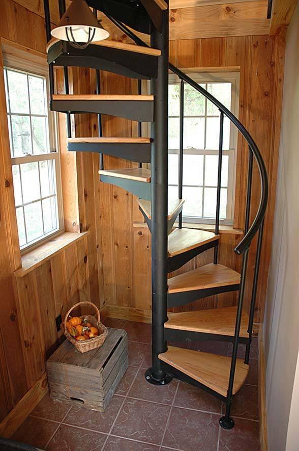 Полувинтовая лестница своими руками, расчёт, видео и прочее