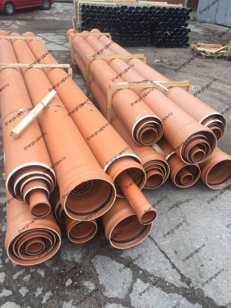 Какую трубу использовать для канализации серую или оранжевую