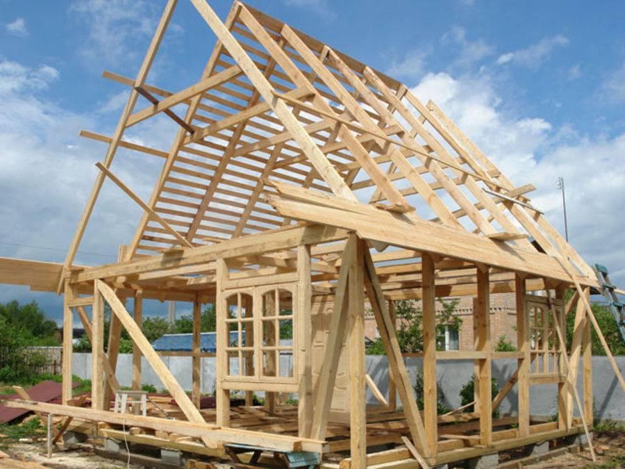 Крыша дома своими руками – простая инструкция по постройке и 150 фото основных этапов работ