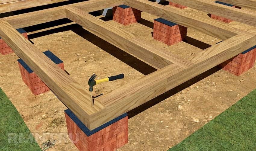 Дом из бруса с верандой: как построить своими руками