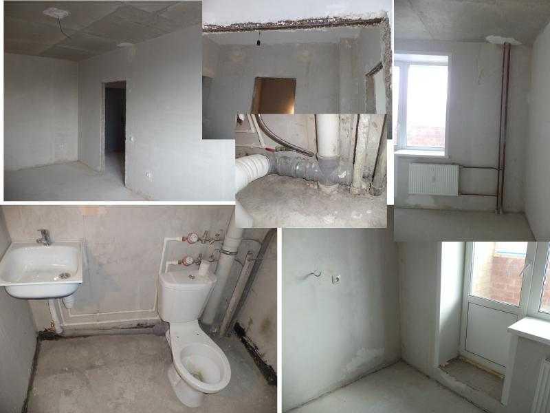 Черновая отделка квартиры в новостройке: делаем своими руками поэтапно ремонт квартиры с черновой отделкой
