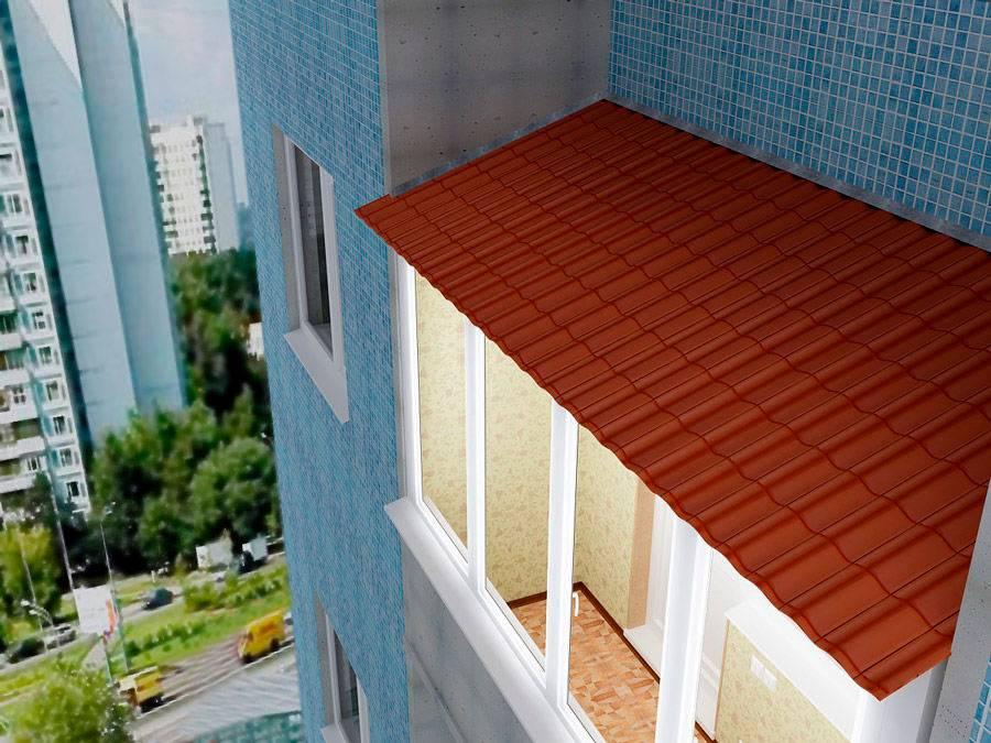 Козырек над балконом своими руками - самстрой - строительство, дизайн, архитектура.