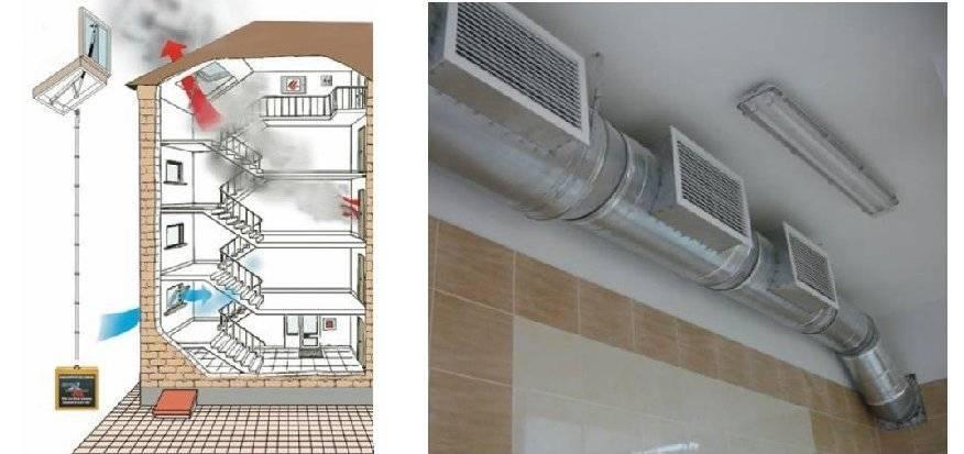 Способы отключение вентиляции при пожаре