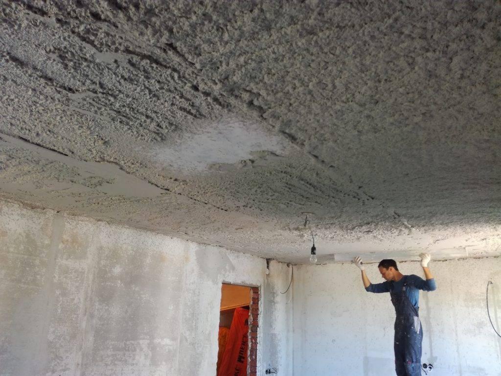 Как штукатурить потолок - пошаговая инструкция - блог о строительстве