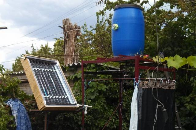 Солнечный коллектор для нагрева воды: как сделать солнечный водонагреватель своими руками