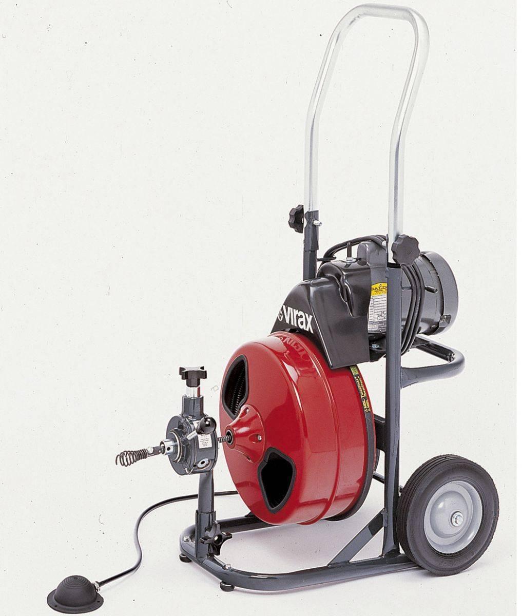 Трос для прочистки канализационных труб: особенности конструкции