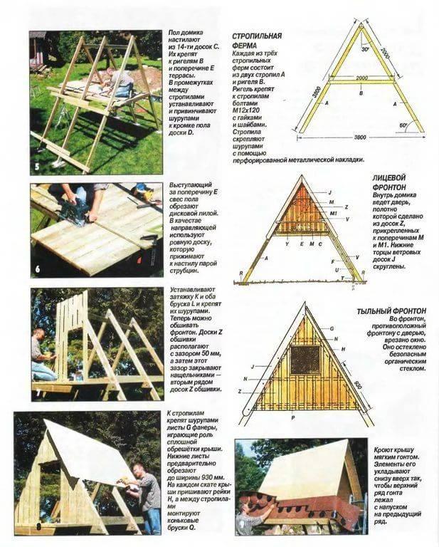 Домик на дереве своими руками: как построить, чертежи, фото, видео