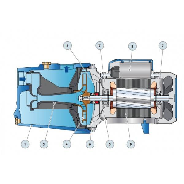 Самовсасывающий насос для воды - виды, устройство и принцип работы, выбор лучшей модели