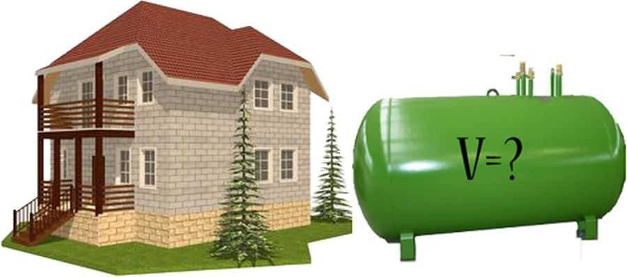 Отопление частного дома газгольдером: расходы и сложности эксплуатации