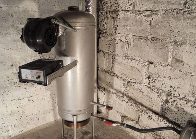 Котел на отработке с водяным контуром своими руками: инструкция по сборке