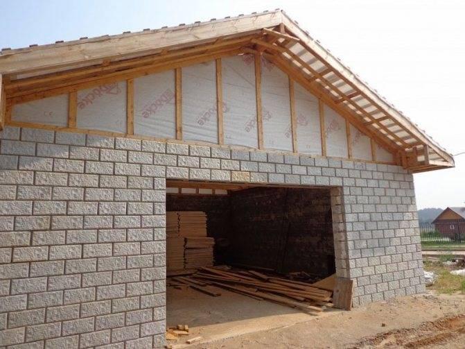 Обзор недорогих, простых и бюджетных материалов: из чего дешевле построить гараж?