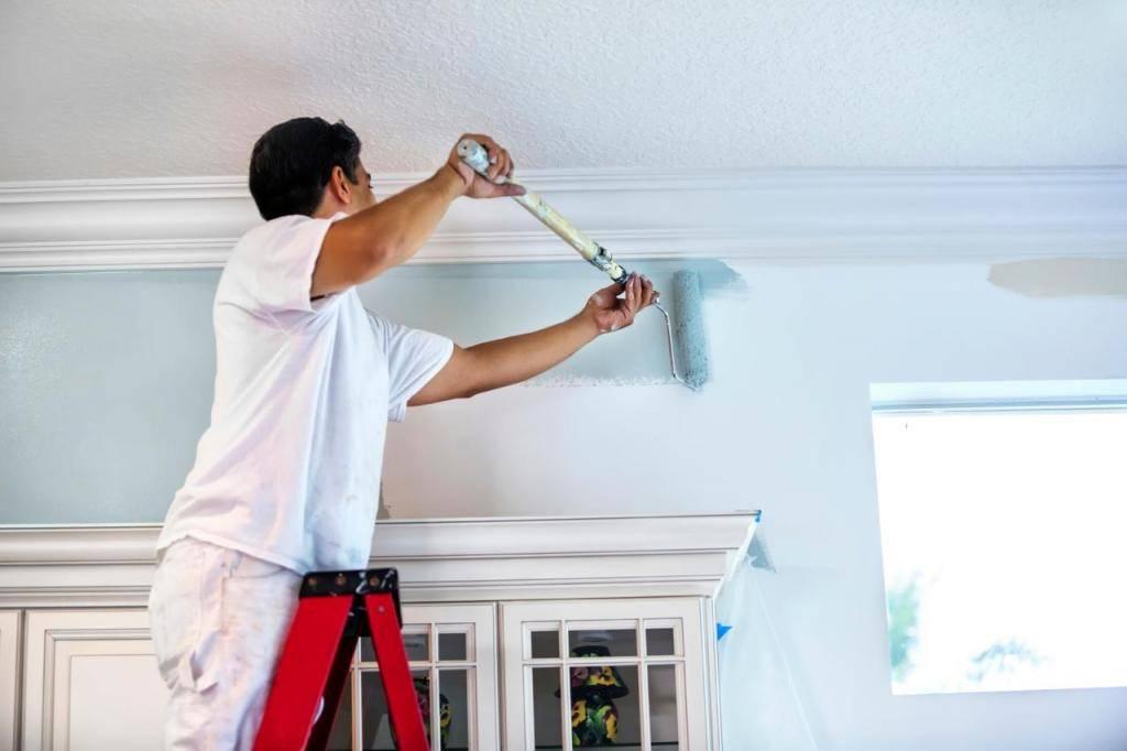 Топ-8 лучших красок для потолка: обзор по видам +отзывы