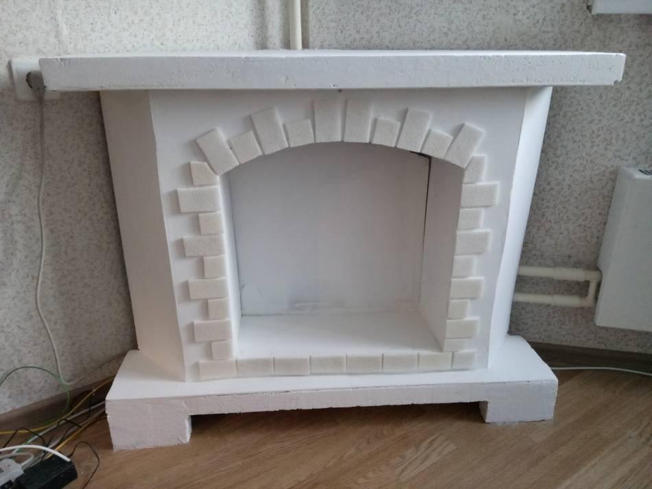 Портал для камина (71 фото): деревянный, из полиуретана и мрамора, фальш камины из гипса и размеры