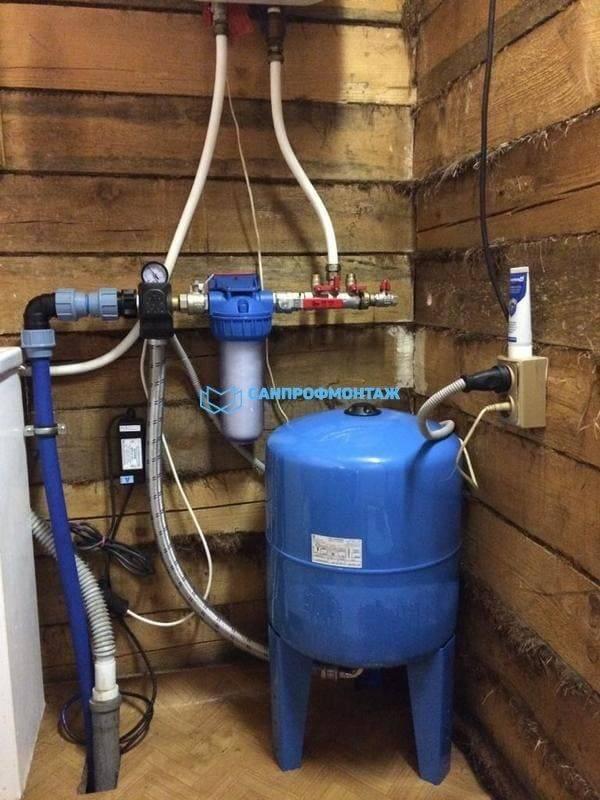 Обвязка скважины для индивидуального водоснабжения: коммуникации и оборудование, схемы подключения