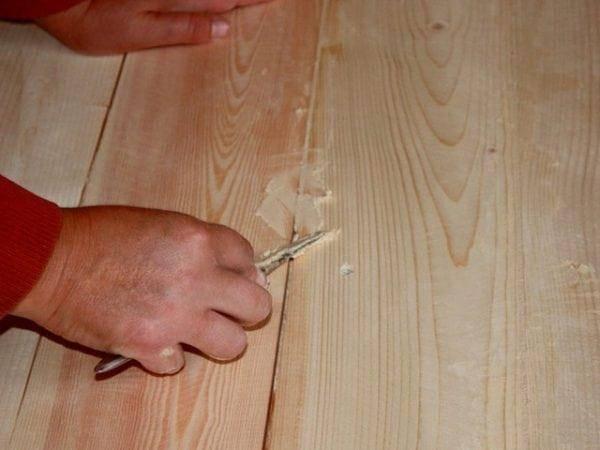 Деревянный пол под ламинат. подготовка и способы выравнивания.