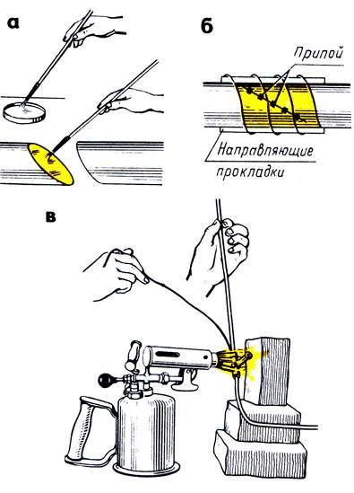 Лужение металла: технология процесса с использованием олова и специальных растворов