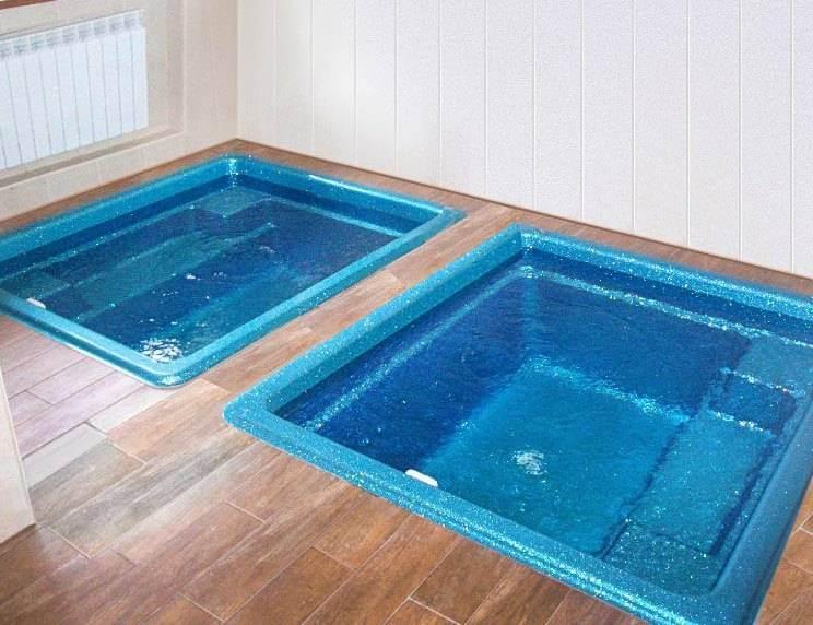 Как сделать бассейн в бане своими руками — пошаговая инструкция с фото, видео и чертежами