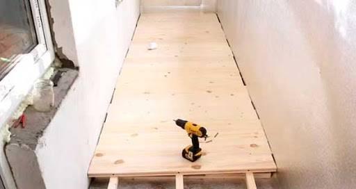 Как сделать деревянный пол на балконе - клуб мастеров