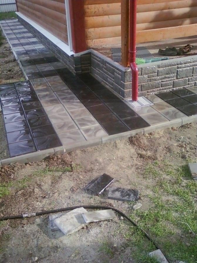 Чем покрыть и обработать бетонную отмостку вокруг дома