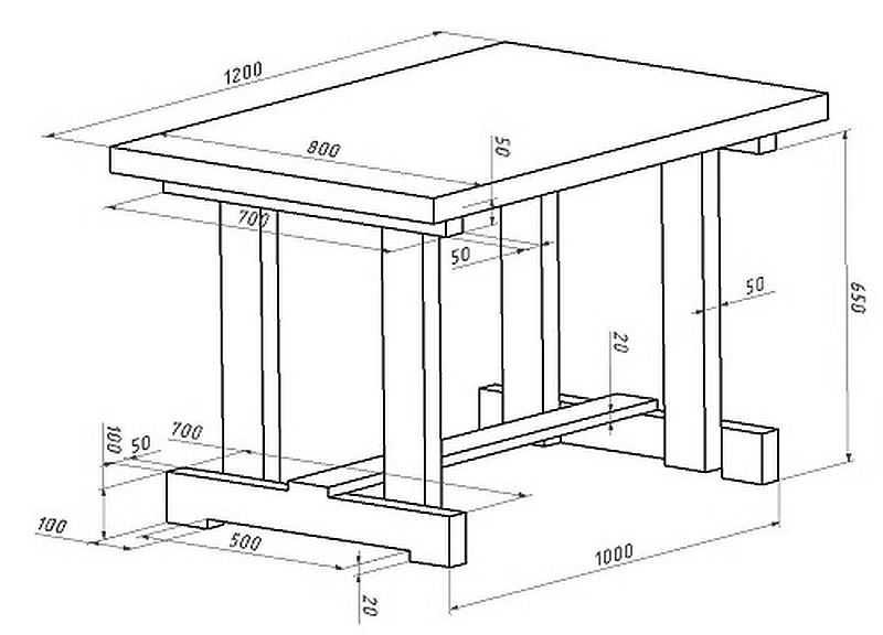[инструкиця] стол для дачи своими руками | 125+ фото