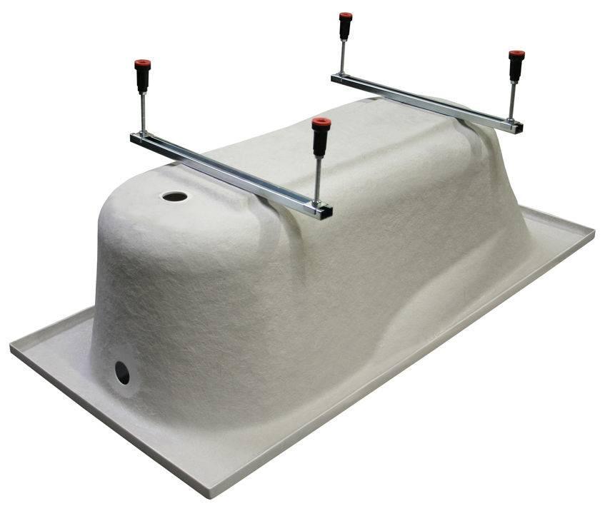 Акриловые ванны — советы по установке своими руками
