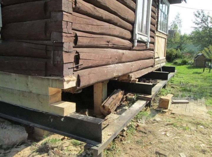 Как поднять дом домкратом своими руками— пошаговая инструкция и рекомендации