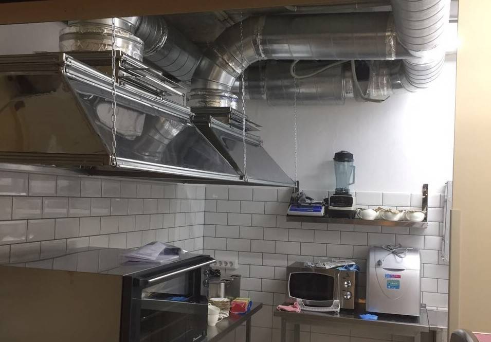 Вентиляция в кафе и ресторанах: расчет, проектирование, согласование и монтаж