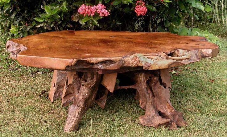 Дачный стол – подбор простых, надежных и стильных решений для постройки своими руками (90 фото)