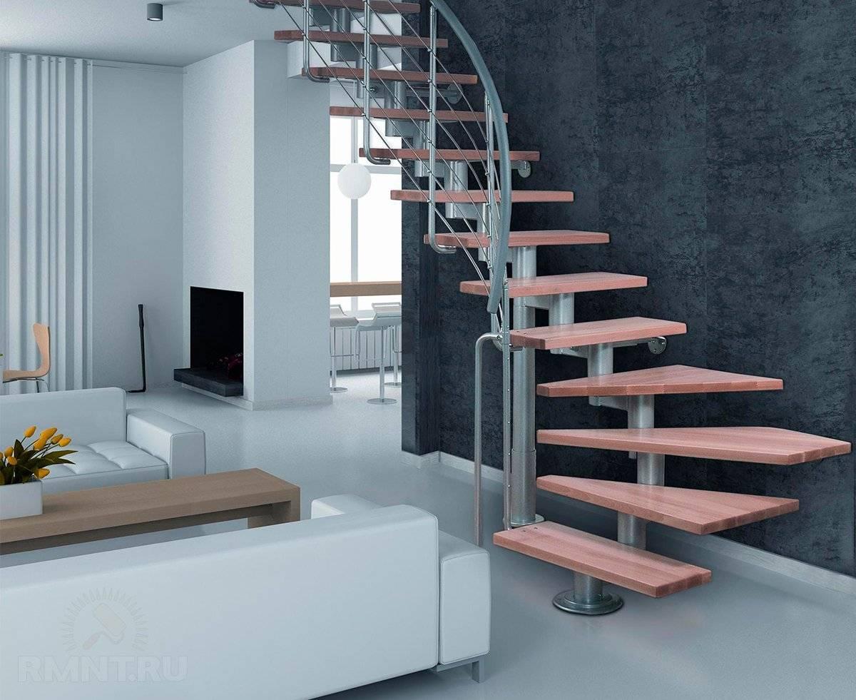 Бетонная лестница в частном доме: важные нюансы и возможности отделки