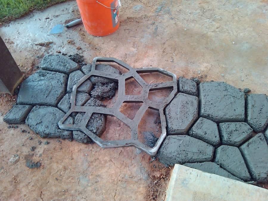 Тротуарная плитка своими руками - технология изготовления
