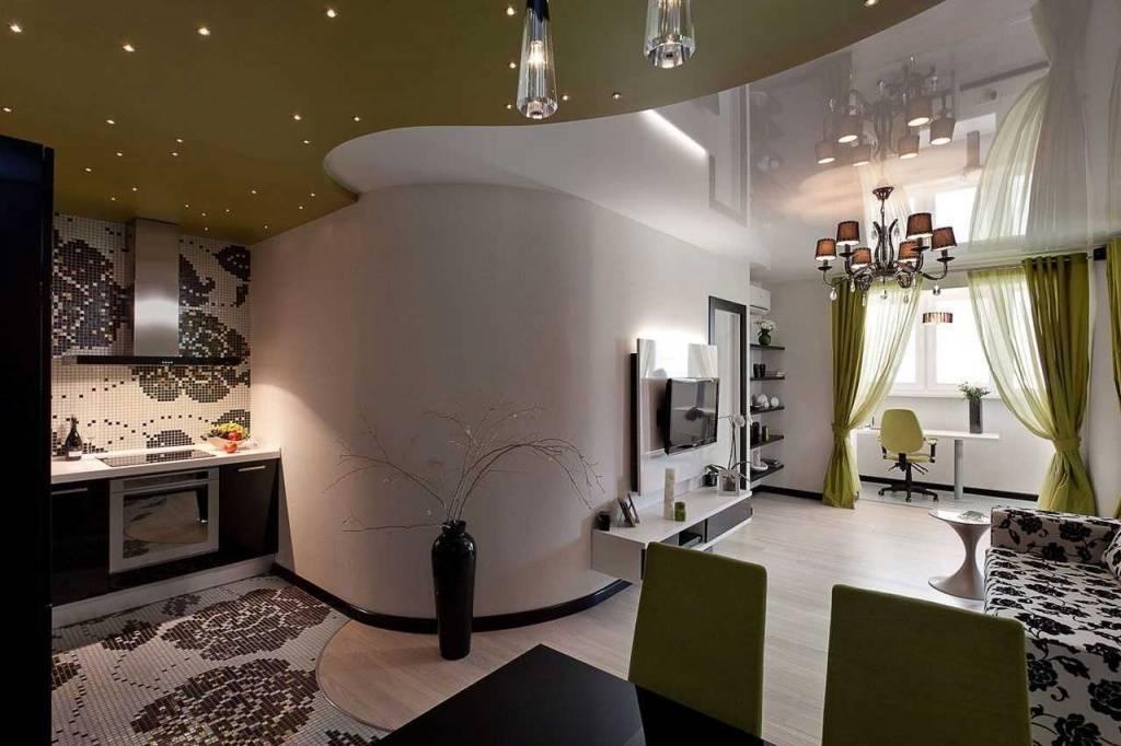 Дизайн интерьера двухкомнатной квартиры, дизайн-проекты