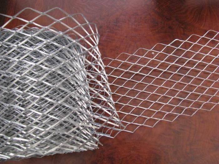 Технология штукатурки стен с сеткой