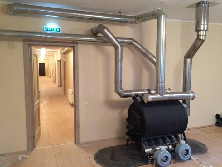 Воздушное отопление частного дома своими руками: рекомендации по проектированию и монтажу