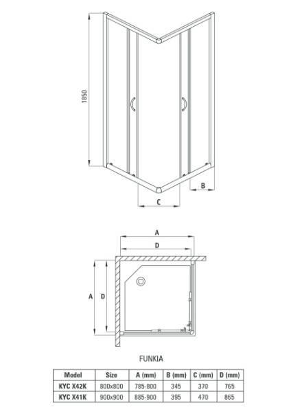 Маленькие душевые кабины для ванной комнаты малых размеров и их фото