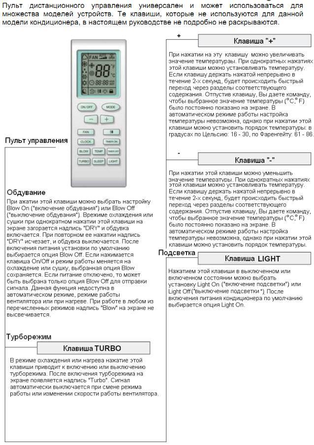 Кондиционеры и сплит-системы euronord: отзывы, инструкции к пульту управления