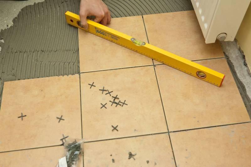 Технология укладки керамической плитки на пол