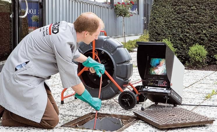 Видеоинспекция канализации