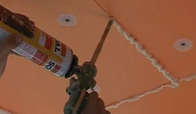 Звукоизоляция потолка пеноплексом: пенопластом, минватой