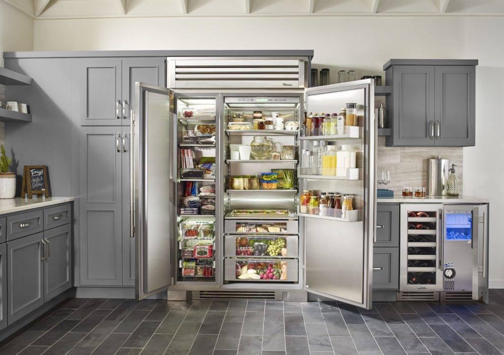 Двухдверный холодильник с морозильной камерой: цена, лучшие модели, фото, отзывы