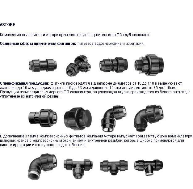 Обзор водопроводных труб ПНД