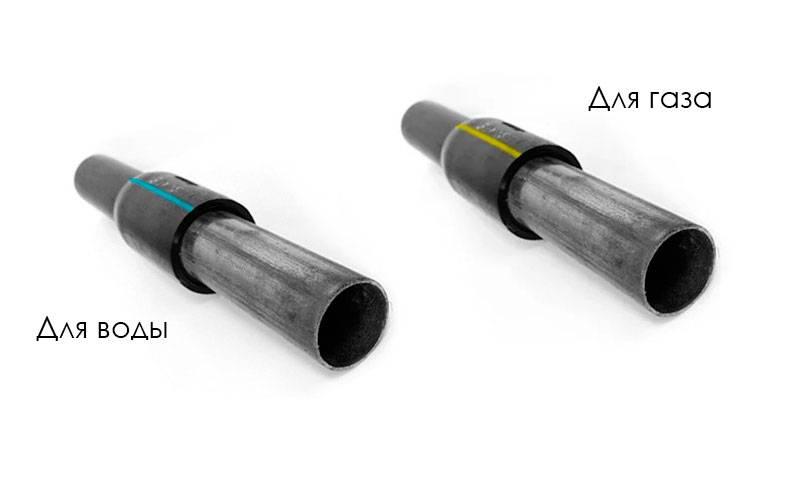 Неразъемное соединение полиэтилен-сталь: переход 110х108 и 63х57 для газа и воды, другие размеры и гост