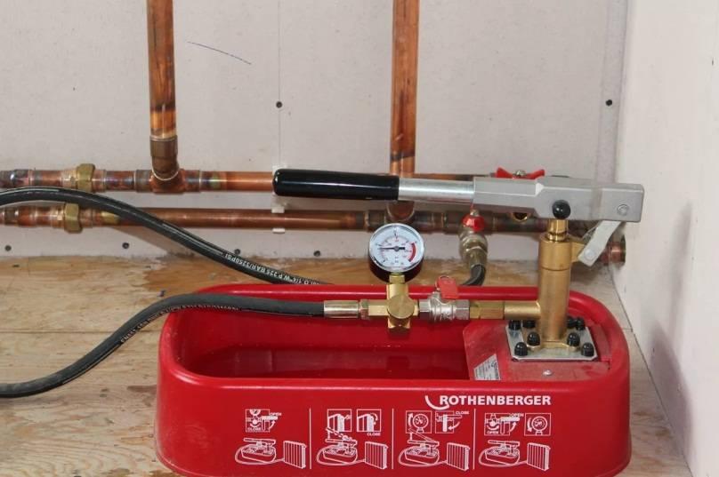 Акт гидравлического испытания водопровода: образец заполнения, особенности опрессовки