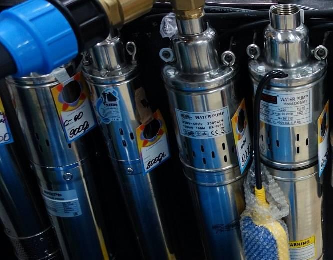 Погружные насосы для колодца: какой лучше выбрать, виды и особенности колодезных насосов