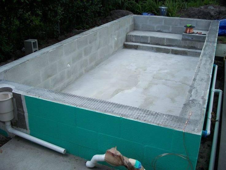 Стройремонткаркасный бассейн на даче: фото, видео, пошаговая инструкция установки, как сделать своими руками основание, лестницу