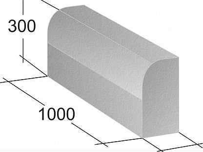 Садовый бетонный бордюр:изготовление своими руками