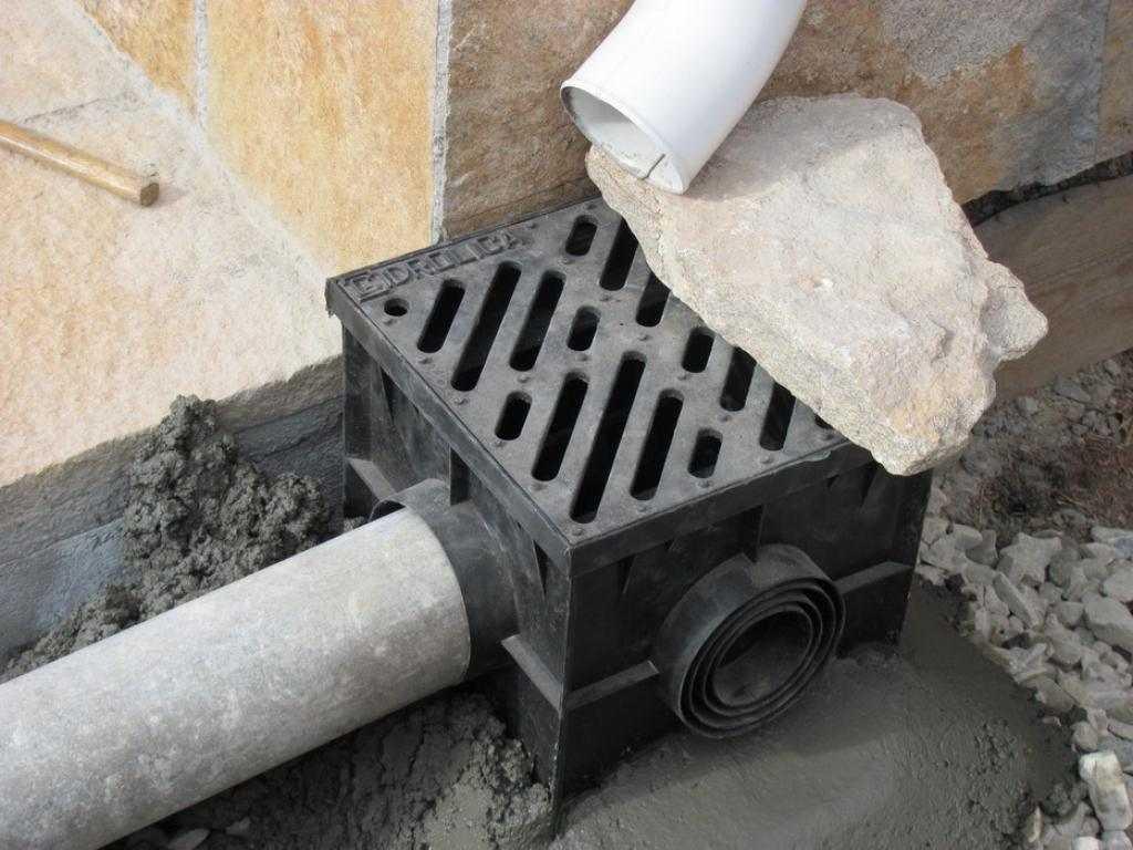 Простая ливневая канализация в частном доме своими руками