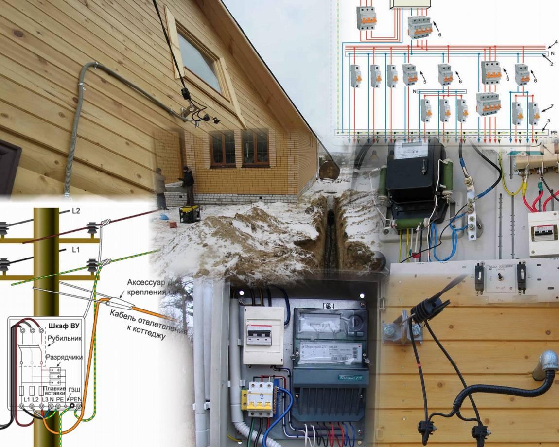 Подключение электричества к частному дому: проект, требования