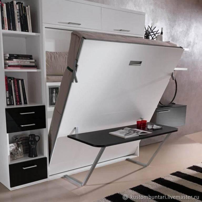 Кровать трансформер для маленькой спальни. трансформируемая мебель (35 фото). кровать-диван в интерьере малогабаритной квартиры